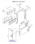 Right cover assembly - Includes all components attached to this door