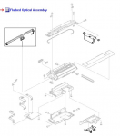 Flatbed scanner optical assembly - Includes the support structure lamp assembly charge-coupled devices (CCD) and lens assembly flatbed analog board drive belt and cables - Scans and digitizes documents placed on the flatbed scanner