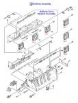 LaserJet 9000 9040 9050 Fan 4
