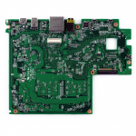 System board (motherboard) - Includes an Intel Atom Z3735G quad-core processor (1.83GHz), a graphics subsystem with UMA memory, 1.0GB system memory, 32GB system storage, WWAN capability, and a non-Windows 8 operating system