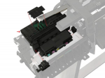 Carriage assembly - Includes carriage height tool cutter assembly and line sensor