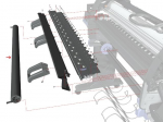 Input feed roller assembly - For 42-inch plotters