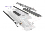 Print platen - Surface that supports paper during printing