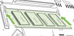 Color LaserJet CP6015N CP6015X CM6030 CM6030f CM6040 CM6040f 256 MB 167 MHz 200-Pin DDR DIMM Memory Module