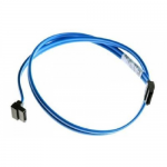 SATA drive dual device cable - Connectors 7-pin straight to 7-pin straight 17.7-in long