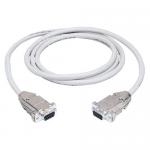 Box Serial Null-Modem Cable - DB-9 Female Serial - DB-9 Female Serial - 6ft - Gray