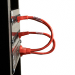 6IN RED CAT6 550MHZ PATCH CABLE UTP CM SNAGLESS