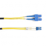Box Single-Mode Value Line Patch Cable SC-LC 5-m (16.4-ft.) - Fiber Optic for Network Device - 16.40 ft - 2 x SC Male Network - 2 x LC Male Network - Yellow