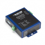 Box Industrial Opto-Isolated Serial to Fiber Single-Mode SC Converter - 1 x SC Ports - No - Rail-mountable