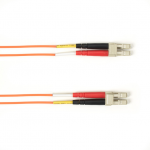 Box 50-Micron OM2 Multimode Fiber Optic Value Patch Cable - Fiber Optic for Network Device - 3.28 ft - 2 x LC Male Network - 2 x LC Male Network