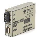 Box FlexPoint RS-232 to Fiber Converter 850-nm Multimode 2.5 km SC - 1 x SC Ports - No - Rack-mountable Wall Mountable Desktop