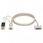 KVM USER CABLE DB25 VGA USB 5FT USER CABLE