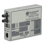 Box FlexPoint T1/E1 to Fiber Converter - 1 x RJ-48  1 x ST Duplex - T1/E1 - Rack-mountable External Wall-mountable