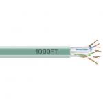 Box GigaTrue 550 Cat.6 UTP Cable - Bare Wire - Bare Wire - 1000ft - Green