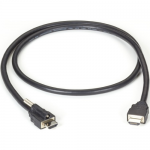 1M (3.2FT.) LOCKING HDMI TO STA NDARD HDMI CABLE