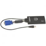 USB VGA LAPTOP CONSOLE CRASH CART ADAPTER