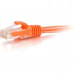 Cat5e Snagless Unshielded (UTP) Network Patch Cable - Patch cable - RJ-45 (M) to RJ-45 (M) - 50 ft - UTP - CAT 5e - molded snagless stranded - orange