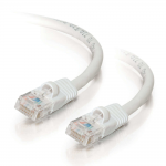 Cat5e Snagless Unshielded (UTP) Network Patch Cable - Patch cable - RJ-45 (M) to RJ-45 (M) - 9 ft - UTP - CAT 5e - molded snagless stranded - white