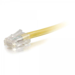 35ft Cat5e Non-Booted Unshielded (UTP) Network Patch Cable - Yellow - Category 5e for Network Device - RJ-45 Male - RJ-45 Male - 35ft - Yellow