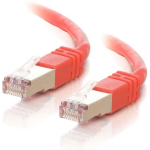 75ft Cat5e Snagless Shielded (STP) Ethernet Network Patch Cable - Red - Patch cable - RJ-45 (M) to RJ-45 (M) - 75 ft - STP - CAT 5e - molded stranded - red