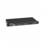 OUTLET-MGD PDU 1U 20-AMP DUAL-C IRCUIT 120 VAC 8-OUTLET