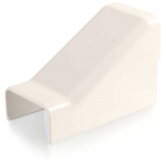 Wiremold Uniduct 2900 Drop Ceiling Connector - Fog White - Cable raceway drop ceiling/entrance end fitting - fog white