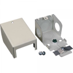 Wiremold 2400 Entrance End Fitting - Cable raceway entrance end fitting - ivory