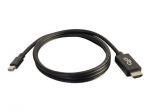 10ft Mini DisplayPort to HDMI Adapter Cable - Black - TAA - Video adapter - DisplayPort / HDMI - Mini DisplayPort (M) to HDMI (M) - 10 ft - black
