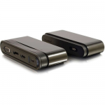 USB C Dock - Multiport - Power Delivery up to 60W - Docking station - USB-C - VGA HDMI DP - GigE