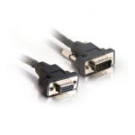 6IN PANEL-MOUNT HD15 SXGA M/F MONITOR EXTENSION CABLE