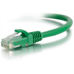 Cat5e Snagless Unshielded (UTP) Network Patch Cable - Patch cable - RJ-45 (M) to RJ-45 (M) - 1 ft - CAT 5e - molded snagless stranded - green