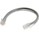 Cat5e Non-Booted Unshielded (UTP) Network Patch Cable - Patch cable - RJ-45 (M) to RJ-45 (M) - 14 ft - UTP - CAT 5e - stranded - gray (pack of 100)