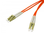 1m LC-LC 50/125 Duplex Multimode OM2 Fiber Cable - Orange - 3ft - Patch cable - LC multi-mode (M) to LC multi-mode (M) - 1 m - fiber optic - 50 / 125 micron - OM2 - riser - orange