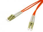 1m LC-LC 50/125 Duplex Multimode OM2 Fiber Cable - Orange - 3ft - Patch cable - LC multi-mode (M) to LC multi-mode (M) - 1 m - fiber optic - 50 / 125 micron - OM2 - riser - orange