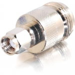 RP-SMA Male to N-Female Wi-Fi Adapter - Antenna adapter - RP-SMA (F) to N-Series connector (F) - coaxial - silver