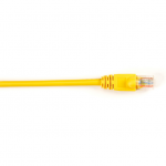 Box CAT5e Value Line Patch Cable Stranded Yellow 1-ft. (0.3-m)  25-Pack - Category 5e for Network Device - 1 ft - 25 Pack - 1 x RJ-45 Male Network - 1 x RJ-45 Male Network - Yellow