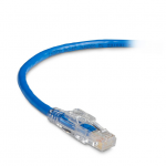 Box GigaTrue 3 CAT6 550-MHz Lockable Patch Cable (UTP)  Green 100-ft. (30.4-m) - Category 6 for Network Device - 100 ft - 1 x RJ-45 Male Network - 1 x RJ-45 Male Network - Green