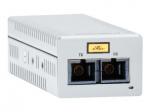 AT-DMC1000/LC - Fiber media converter - GigE - 1000Base-SX 1000Base-T - RJ-45 / LC multi-mode - up to 1640 ft - 850 nm
