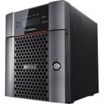 TeraStation 5410DN - NAS server - 4 bays - 16 TB - SATA 6Gb/s - HDD 4 TB x 4 - RAID 0 1 5 6 10 - RAM 4 GB - 10 Gigabit Ethernet