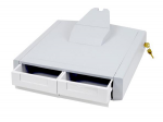 StyleView Primary Storage Drawer, Double - Mounting component ( drawer module ) - lockable - medical - gray, white - cart mountable
