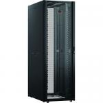NetShelter SX Networking Enclosure with Sides - Rack - black - 48U - 19 inch