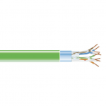 CAT5E 350-MHZ SOLID CABLE F/UTP CM GN 1000-FT. SPOOL