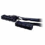Data Distribution Cable - Network cable - RJ-45 (F) to RJ-45 (F) - 21 ft - UTP - CAT 6 - black