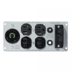 Backplate kit - Power backplate - NEMA 5-15 NEMA 5-20 NEMA L5-30 (F) - for Smart-UPS 3000VA USB & Serial