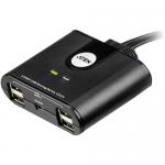2-Port USB Peripheral Sharing Device - USB - External - 7 USB Port(s) - 7 USB 2.0 Port(s)