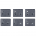 Cable Containment Brackets with PDU Mounting - PDU mounting brackets - black - for NetShelter SX