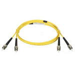 1M (3.2FT) LCST YL OS2 SM FIBER PATCH CABLE INDR ZIP OFNR