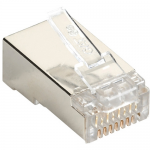 Box CAT5e Value Line Modular Plug Shielded 100-Pak - 100 Pack - 1 x RJ-45 Male - Gold-plated Contacts