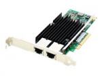 IBM 49Y7970 Comparable Dual RJ-45 Port PCIe NIC - Network adapter - PCIe x8 - 10Gb Ethernet x 2 - for Lenovo System x3100 M5 x3250 M4 x35XX M4 x3650 M4 HD x36XX M3 x3850 X6 x3950 X6