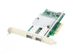 HP 665249-B21 Comparable Dual SFP+ Port PCIe NIC - Network adapter - PCIe x8 - 10 Gigabit SFP+ x 2 - for HPE Apollo 4200 Gen9 ProLiant DL20 Gen9 ML30 Gen9 SimpliVity 380 Gen9 StoreEasy 3850